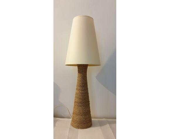 Lampe vintage en corde