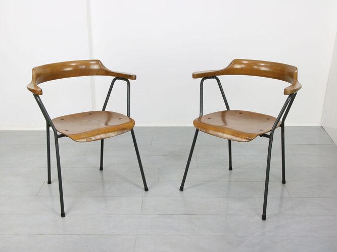 Chaise vintage 4455 de Niko Kralj, années 1970