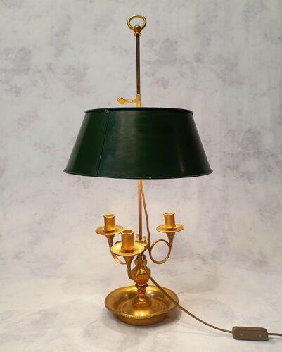 Lampe bouillotte époque empire bronze 19ème