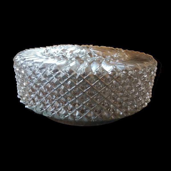 Plafonnier ou applique en verre