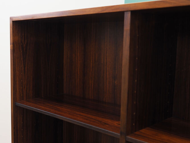 Bibliothèque en palissandre, design danois, années 1960, fabriquée par Duba Møbelindustri