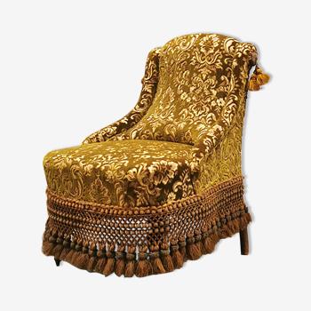 Fauteuil vintage 'Baroque'