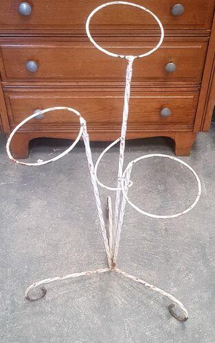 Ancien porte-plantes, porte-pots des années 1960