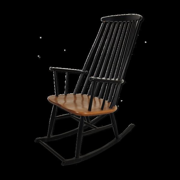 Selency Rocking chair scandinave années 60