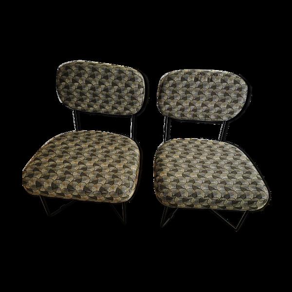 Selency Paire de chaises