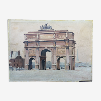 The triumphal arch of the carousel