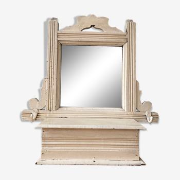 Meuble miroir de toilette vintage