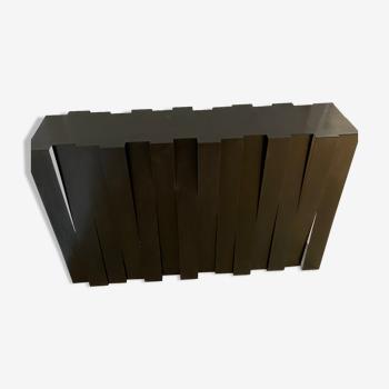 Console en métal signée Ducatteau 2014