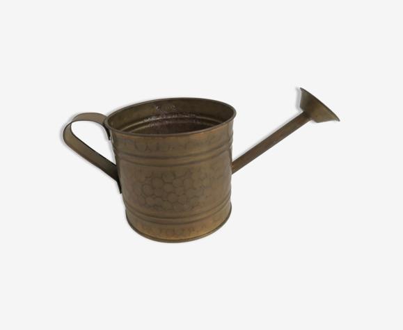 Arrosoir en cuivre vintage