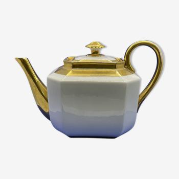 Verseuse en porcelaine de Paris - XIXème