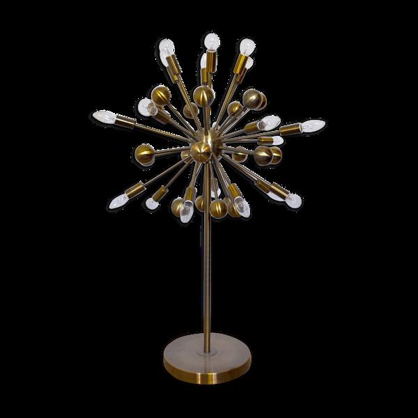 Lampe sputnik space-age 1980