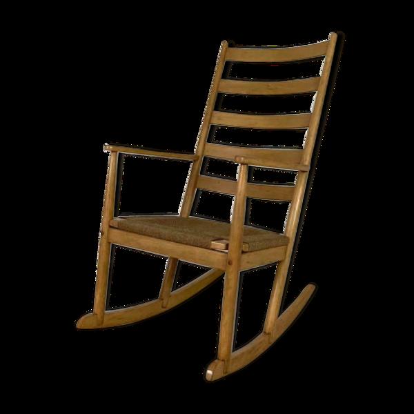 Rocking-chair vintage 1950s 1960