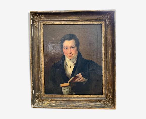 Huile sur toile de Gustave Wappers Anvers 1825