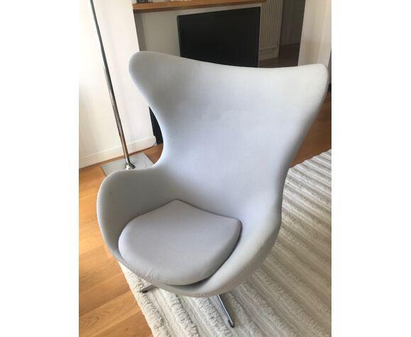 Egg chair d'Arne Jacobsen édition Fritz Hansen