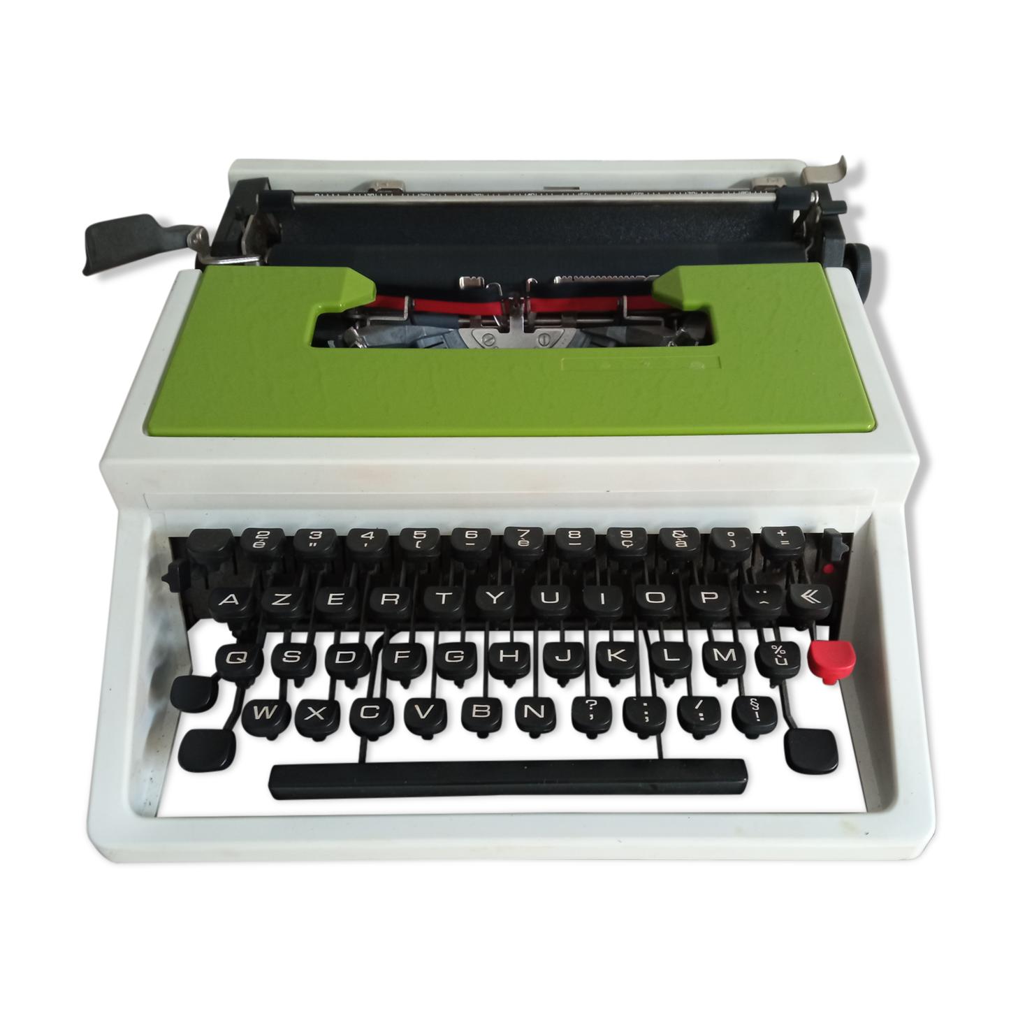 Machine à écrire Underwood 315 Vert Pomme