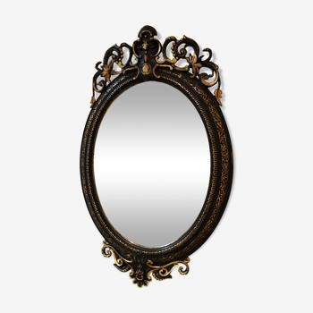 Miroir biseauté Napoléon III