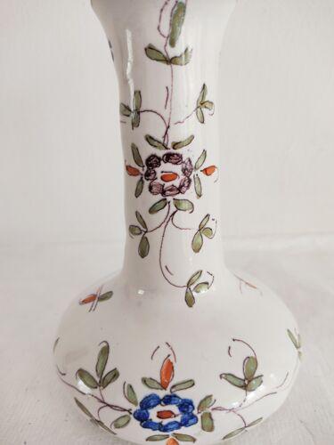 Vase en faïence de Strasbourg début 20e