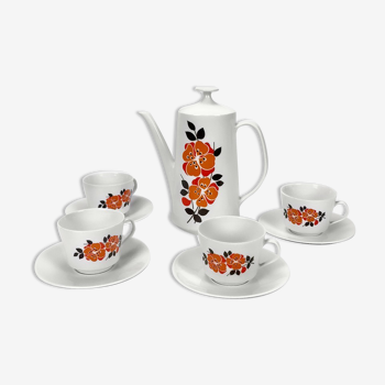 Kronester Bavaria porcelain coffee set from the 70s