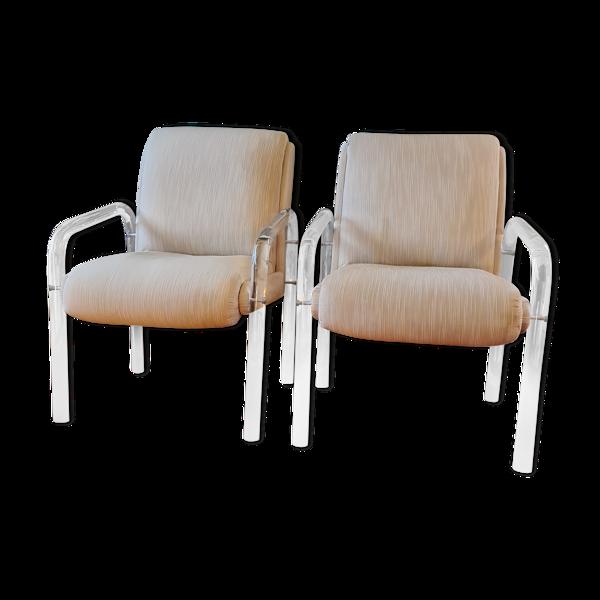 Paires de fauteuils de Charles Hollis Jones