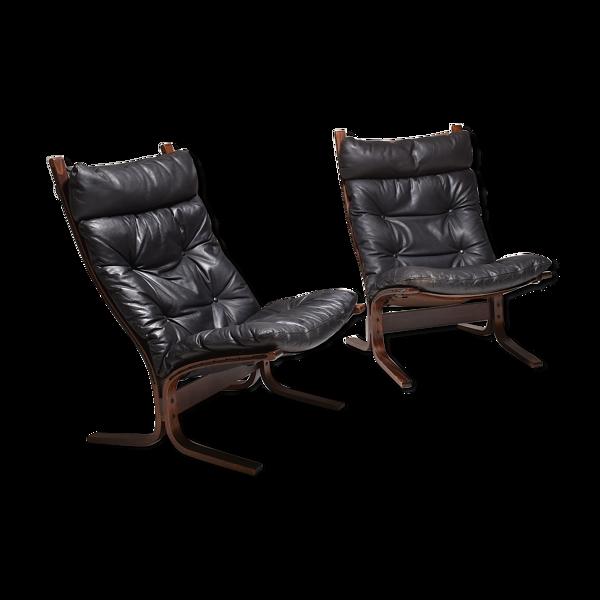 Selency Paire de fauteuils Siesta par Ingmar Reilling , Westnofa