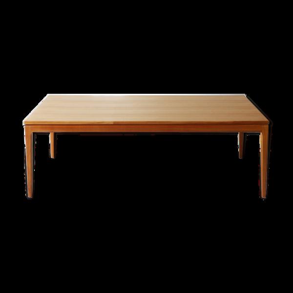 Selency Table basse en bois de cerisier des années 1960