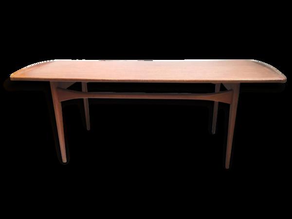 Table Basse Scandinave de Ole Gjerlov-Knudsen & Lind pour France & son, Danemark années 1960