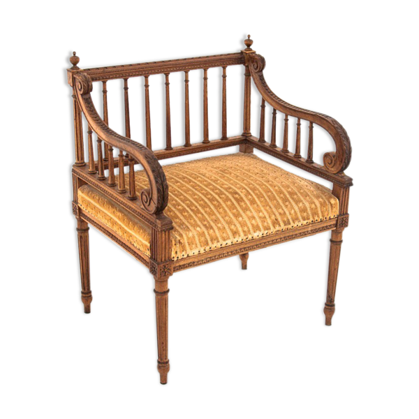 Fauteuil, France, vers 1880