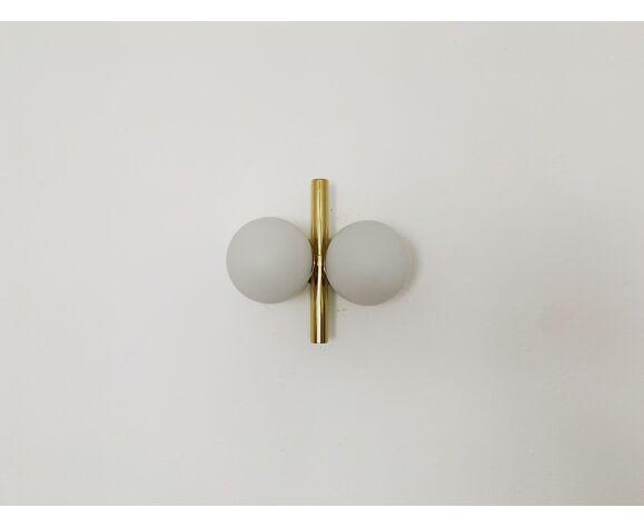 Paire d'appliques en laiton par Kaiser Leuchten