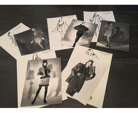 Christian Dior, illustration de mode de presse, collection 1988/1989