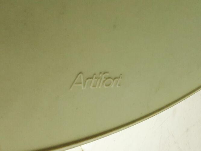 Fauteuil pivotant  F140 de Geoffrey Harcourt pour Artifort, Pays-Bas années 1960