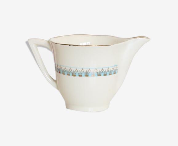 Crémier ou pot à lait Longwy modèle Auteuil 1950 vintage français