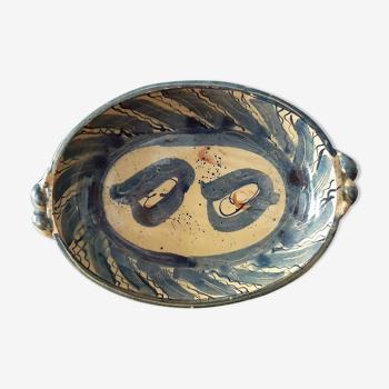 Plat céramique vintage