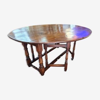 Table Gateleg en chêne