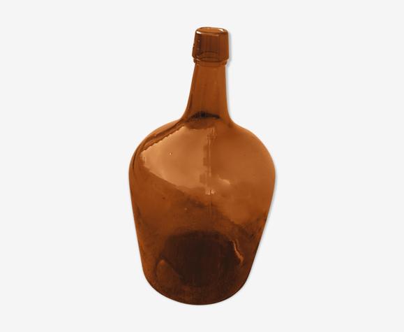 Dame jeanne ambrée 5 litres vintage