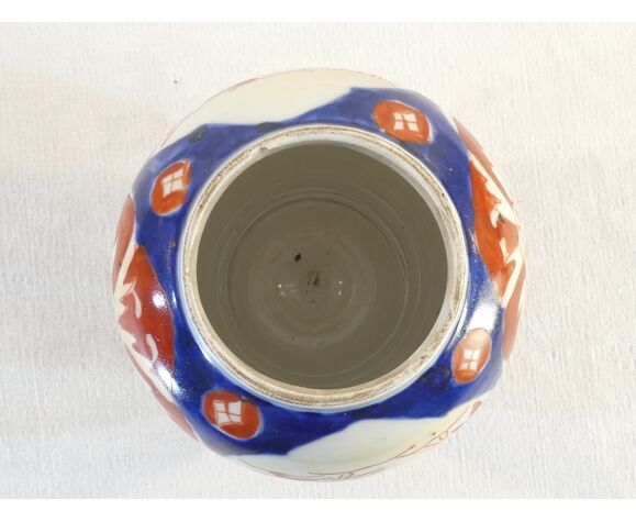 Paire de vase sen porcelaine d'Imari