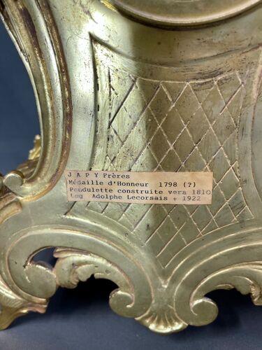 Garniture en bronze XIXè japy frère