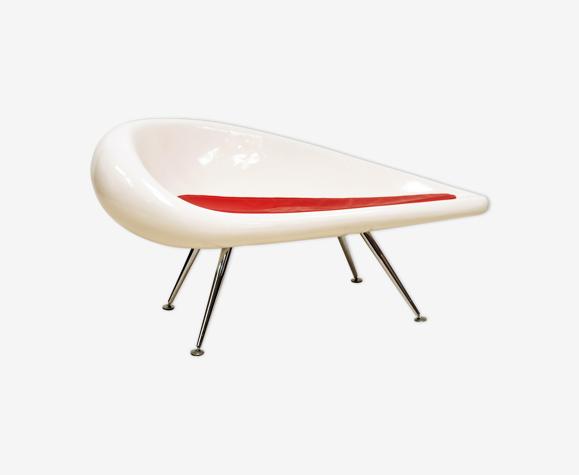 Sofa space Age en fibre de verre
