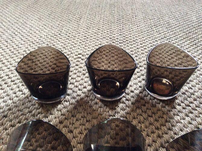 Série de 6 verres