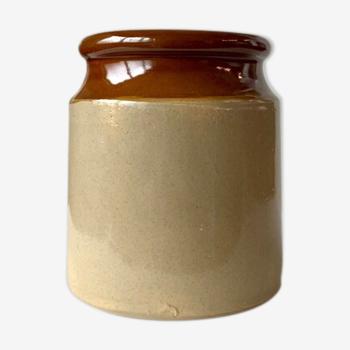 Pot à ustensiles en grès émaillé