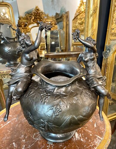 Vase d époque art nouveau signé Charles Perron