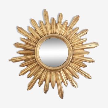 Miroir soleil glace bombée 54cm