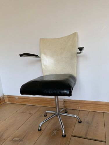 Chaise de bureau de Gebroeders De Wit, années 1960
