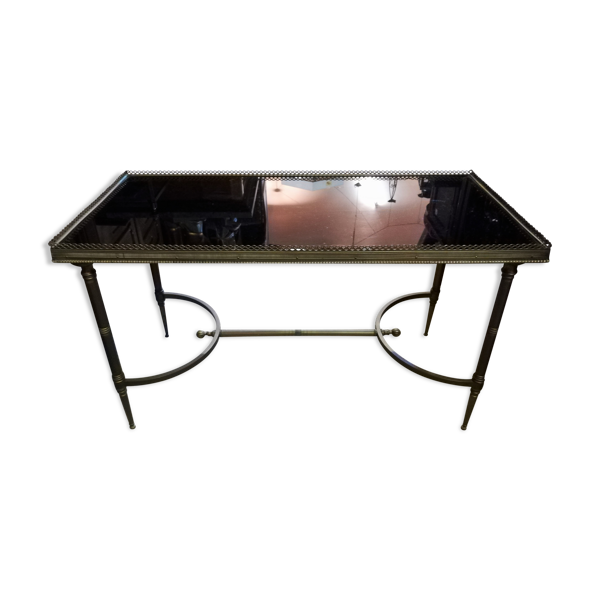 Selency Table basse en bronze