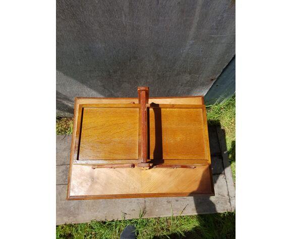 Travailleuse boîte à couture bois clair
