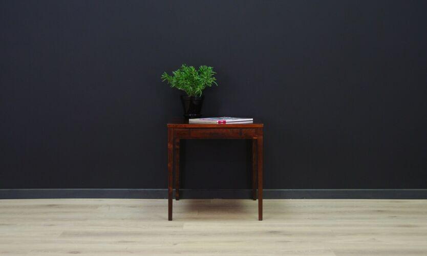 Table basse en palissandre 60/70