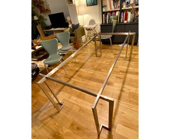 Table structure ions et plateau en verre