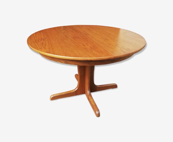 Table Baumann à rallonge intégrée