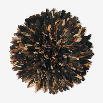Juju hat noir moucheté 55 cm
