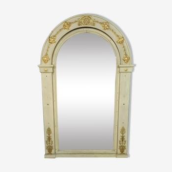 Miroir de boiserie époque empire vers 1800-1810