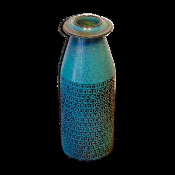 Vase de Stig Lindberg pour Gustavsberg 1967